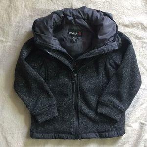 Grey Kids' Reebok CrossFit Jacket Sz 4 Two-Layers